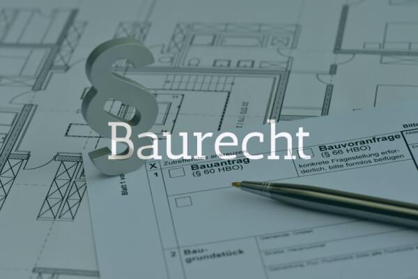 Öffentliches Baurecht und Allgemeines Verwaltungsrecht